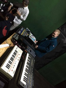 Me and Tapes in front of Casiotone MT-40 & Casio CZ-101