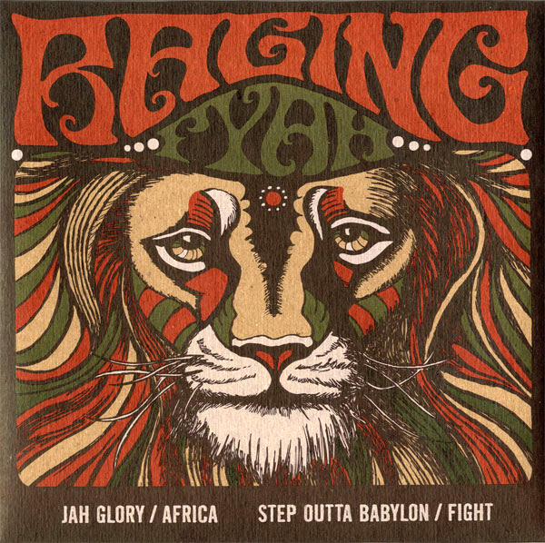 Raging Fyah [ Two 7inch Set Vol.2 ](CSM-006)