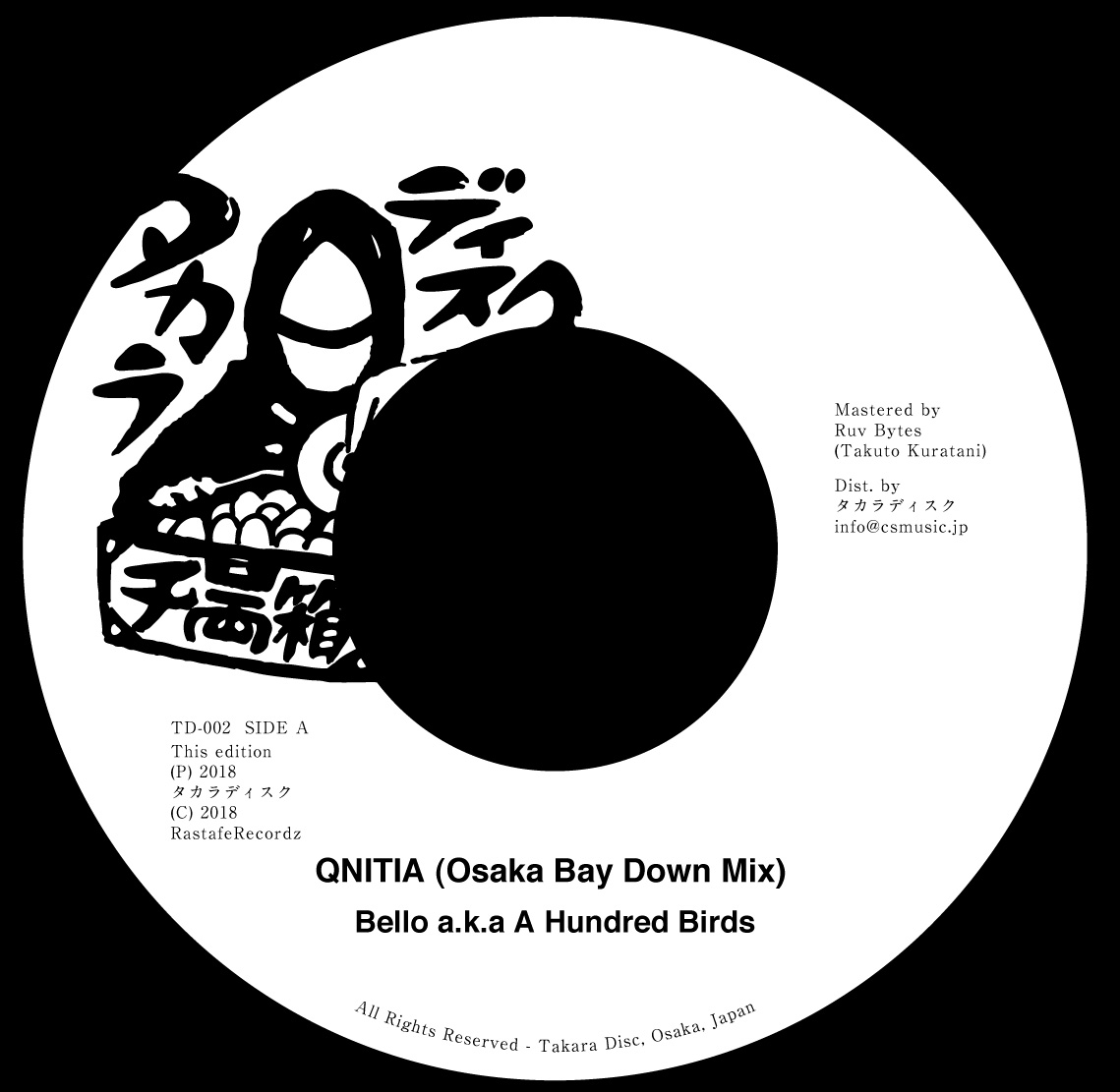 QNITIA (Osaka Bay Down Mix) Remixed by Bello